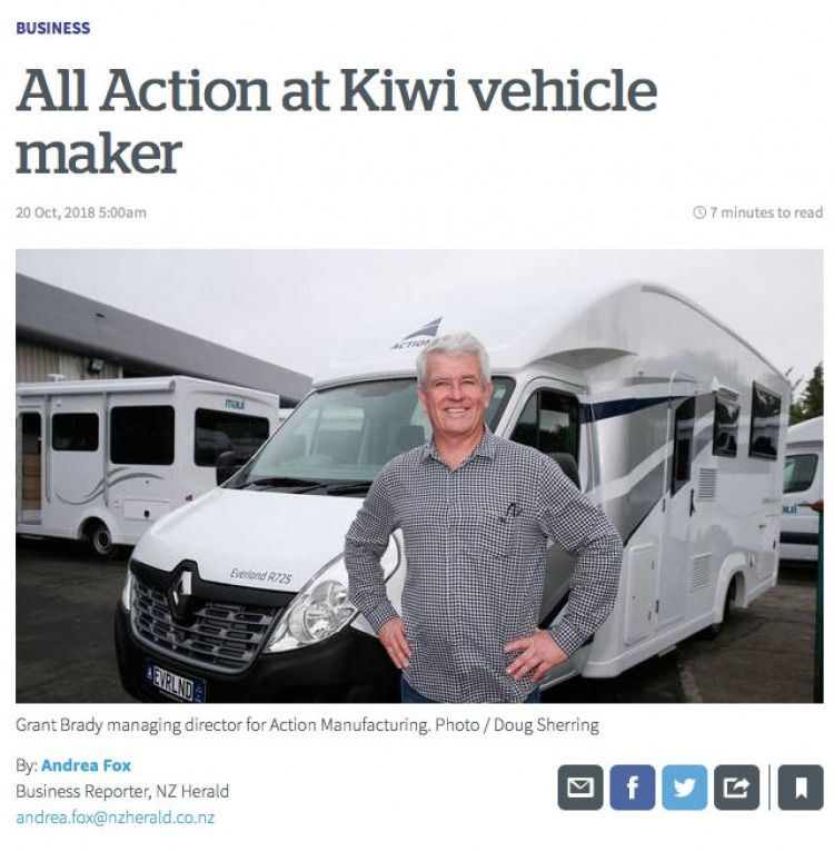 Action Manufacturing NZ Herald