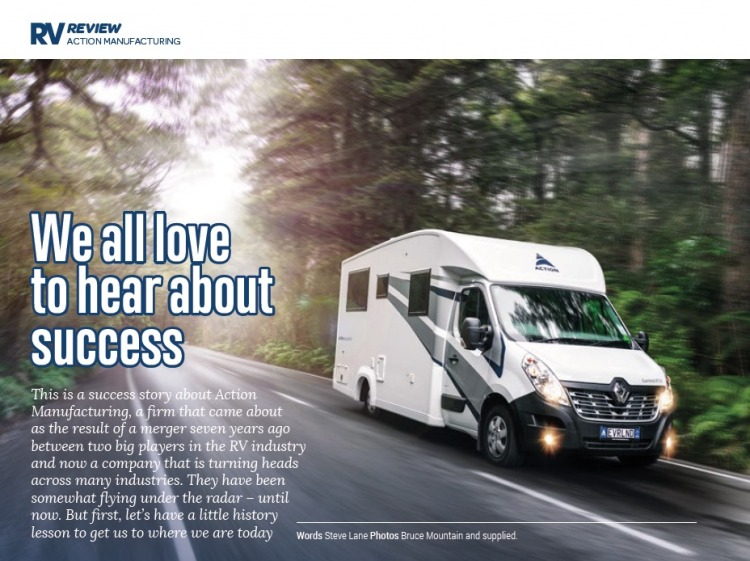 RV Lifestyle About Action Manufacturing